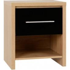Seville 1 drawer bedside