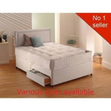 Ashleigh Divan Set Bed - Medium Firm