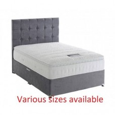 Silver Active 2800 Divan Set - medium firm