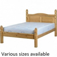 Corona Low Foot End Wooden Bed Frames
