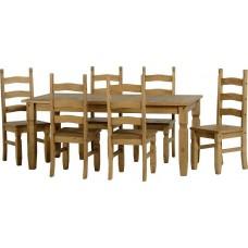 Corona 6ft Dining Set