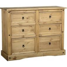 Corona 6 drawer chest