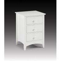 Cameo 3 drawer bedside