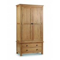 Oak Marlborough 2 door 2 drawer wardrobe