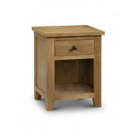 Oak Marlborough 1 drawer bedside